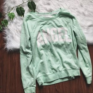 Vs angel mint pullover